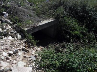 Επέκταση αγωγού ομβρίων υδάτων