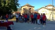 Από τη Δράση επισκέψεων στις κοινότητας. Στη φωτογραφία η αντιδήμαρχος Αλεξάνδρα Τσιαντέ και η πρόδρος της Ελασσόνας Ασπασία Βαλιώτη