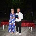 Απονομή τιμητικής πλακέτας στον Ευάγγελο Τσακνάκη για τη συγγραφή της ιστορίας της Δολίχης