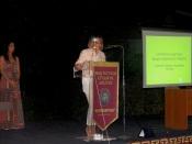Η αντιδήμαρχος Ευφροσύνη Καρκαβανίδου στο Φεστιβάλ Περραιβική Τρίπολις 2015