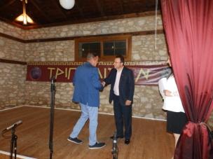 Ο αντιδήμαρχος Διονύσης Μπλαούκας στο Φεστιβάλ Περραιβική Τρίπολις 2016